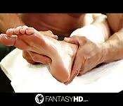 Los fantásticos pies de Lexi Davis
