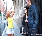 Una latina esplosiva scopa un fidanzato infedele