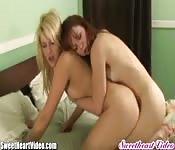 Amore lesbo fra amiche