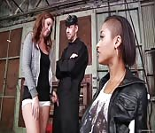 Anale trio met Maddy O'Reilly en Skin Diamond