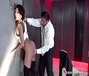 Interrogatorio anal para Kayla Carrera