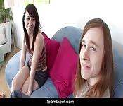 Morena amadora fudendo com seu namorado cabeludo